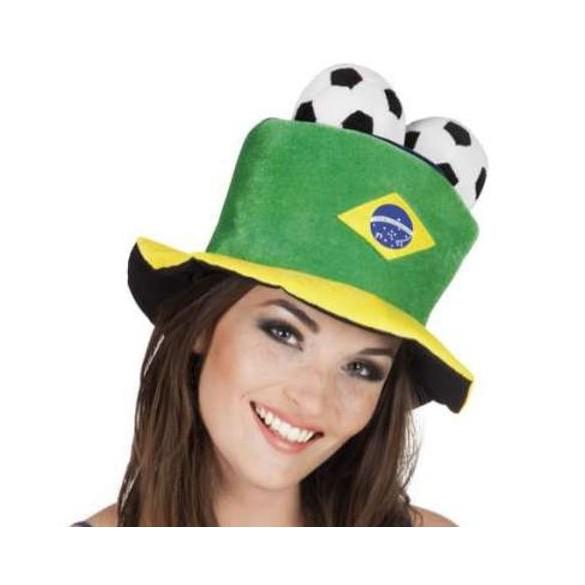 Chapeau supporter Brésil