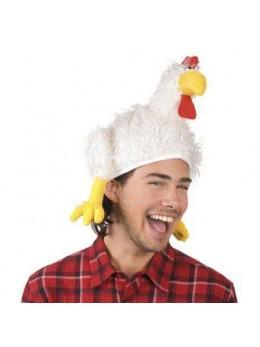 Chapeau poule luxe