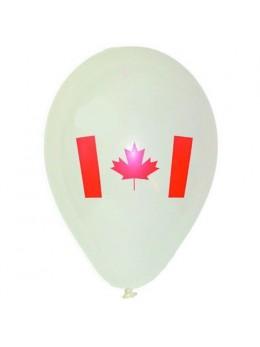 10 Ballons Canada 30cm