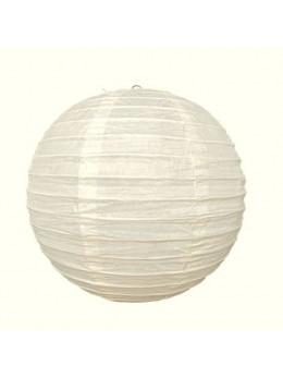 Lampion ballon Crème 25 cm