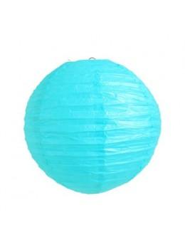 Lampion ballon Turquoise 25 cm