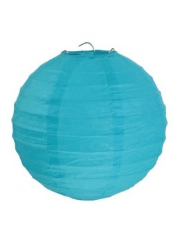 Lampion ballon Turquoise 35 cm