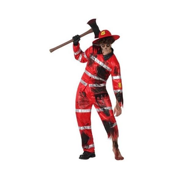 Déguisement Pompier Zombie