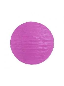 Lampion ballon parme 25 cm