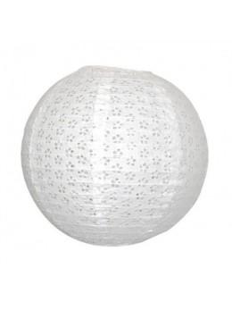 Lampion ballon parme 35 cm