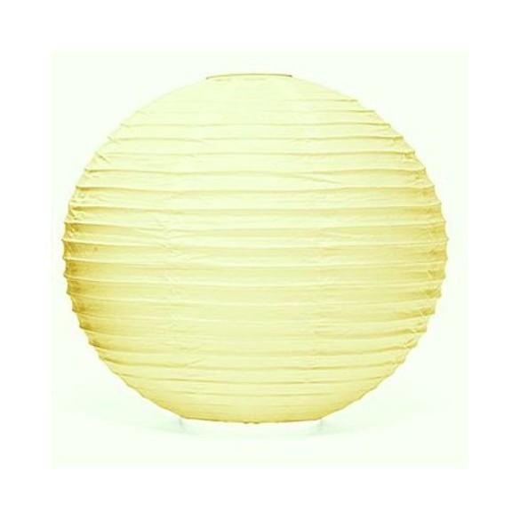 Lampion ballon crème 35 cm