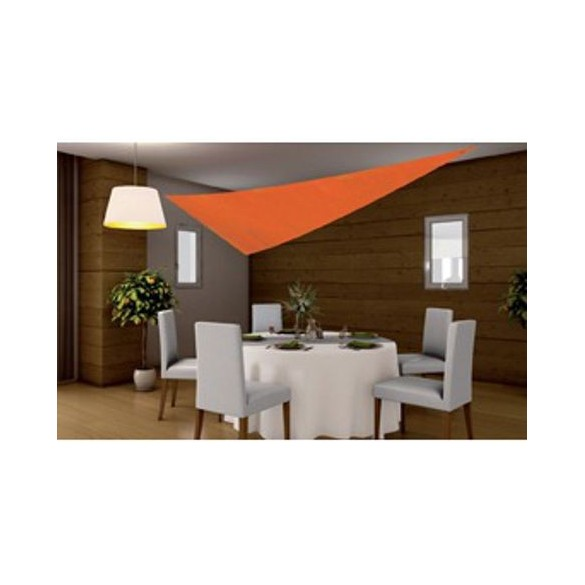Tenture triangle Orange