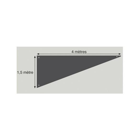 Tenture triangle Gris