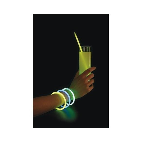 Bracelets agitateurs lumineux par 50