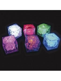 Cube lumineux diamant multicouleur