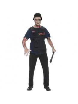 Déguisement Zombie Swat