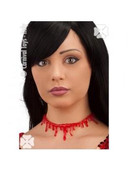 Cicatrice cou avec sang