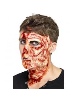 Maquillage Demi visage balafré
