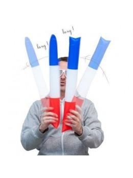 Set de 2 Claps Gonflable tricolore