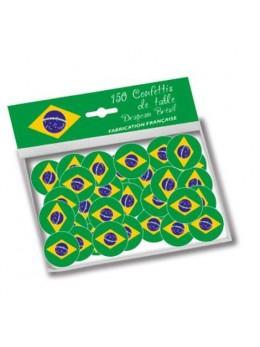 150 Confetti de table Brésil