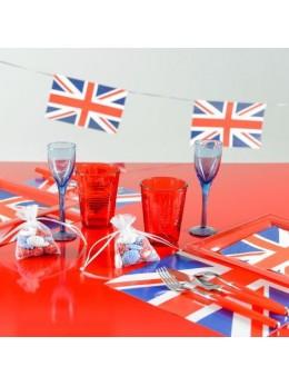 20 Serviettes Angleterre