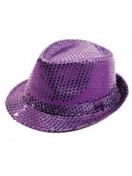 Borsalino Sequin Violet