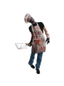 Déguisement tablier boucher zombie
