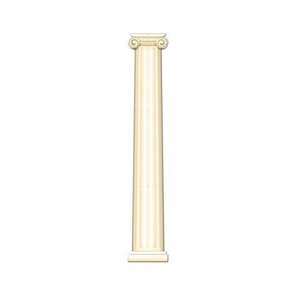 Déco carton colonne antique
