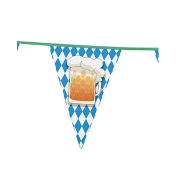 Guirlande plastique fête de la bière