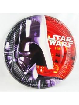 8 Assiettes carton StarWars