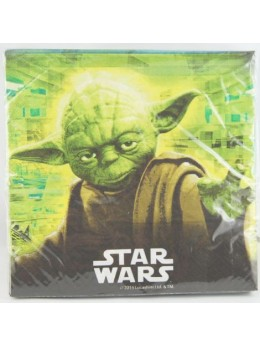 20 Serviettes lunch Star Wars