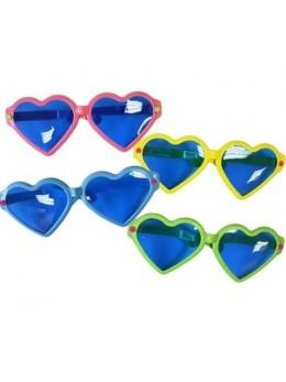 Lunettes coeur géante