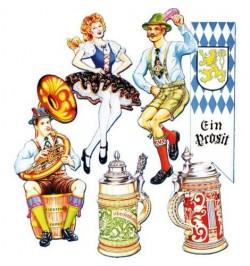6 Décors 'Oktoberfest'
