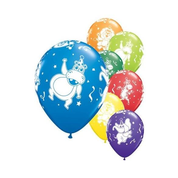 10 ballons animaux rigolo
