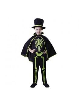 Déguisement Mister Squelette Vert