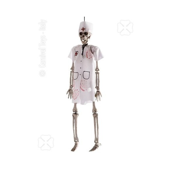 Déco mini squelette docteur
