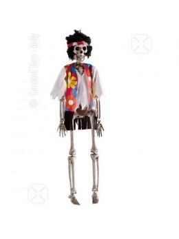 Déco mini squelette hippie