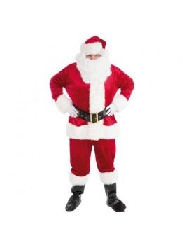 Déguisement Père Noël velours complet