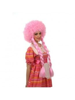 Perruque afro rose tresse
