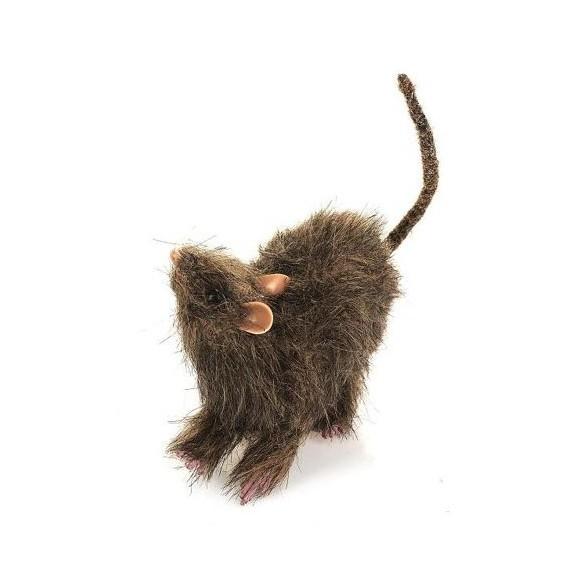 Déco rat fourrure