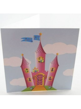 Carte thème Princesse