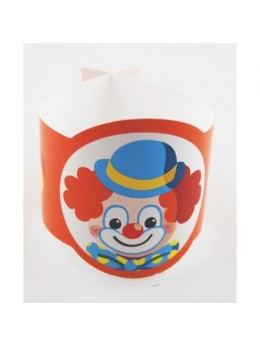 Rond de serviette clown