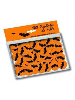 150 confetti de table chauve souris