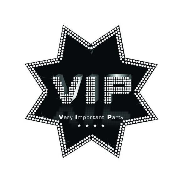 Cut-out étoile VIP