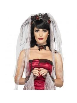 Kit déguisement mariée gothique