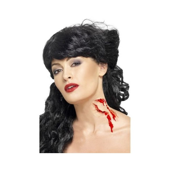 Maquillage morsure vampire