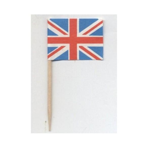144 mini drapeaux Royaume Uni