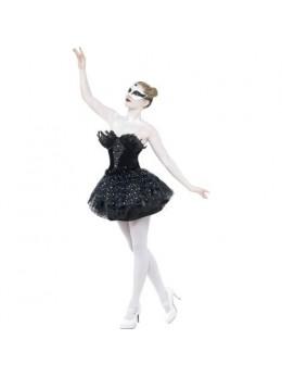 Déguisement black swan gothique