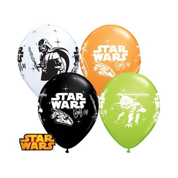 10 Ballons Star Wars