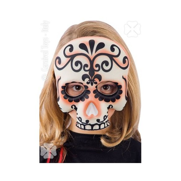 1/2 Masque Sugar skull