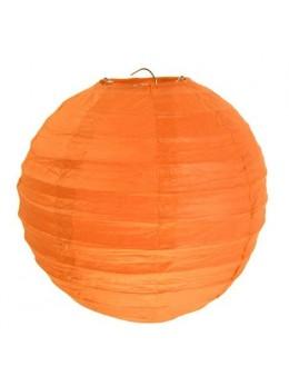 2 Lampions ballons orange