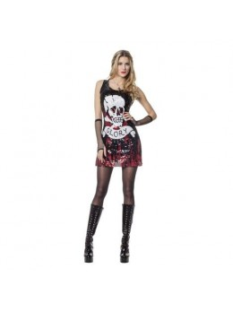 Déguisement Robe paillette Glory rock