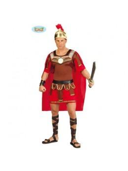 Déguisement centurion romain rouge
