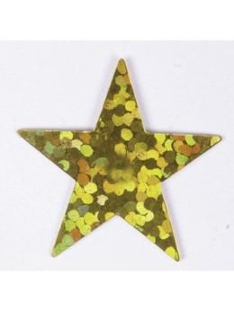 sachet étoiles hologramme or 14g