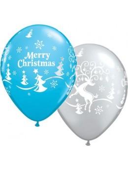 10 Ballons Renne de Noël